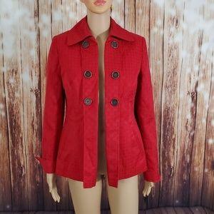 Mary Kay Red Blazer Jacket Small